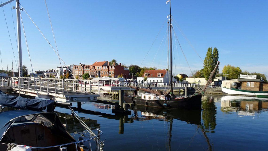 Der Museumshafen in Greifswald