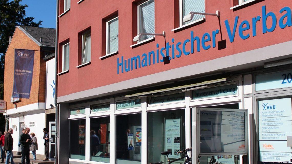 Im Haus Humanitas sitzt die Landeszentrale des HVD Niedersachsen.