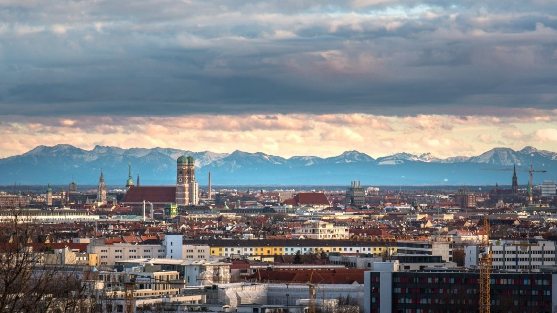 Panorama der bayerischen Landeshauptstadt: Der neugegründete HVD Bayern hat seinen Sitz in München.