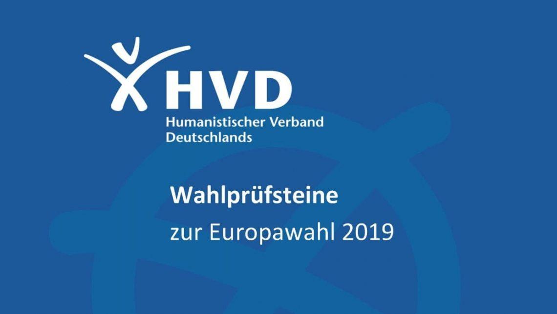 Wahlprüfsteine des HVD zur Europawahl 2019